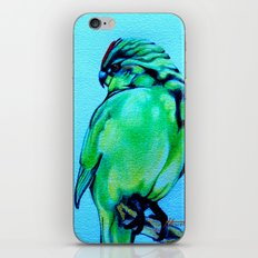 Kakariki - The NZ Red-Crowned Parakeet iPhone & iPod Skin