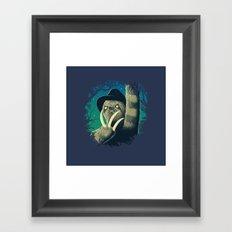 Sloth Freddy Framed Art Print