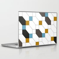 depeche mode Laptop & iPad Skins featuring Mode by blacknote