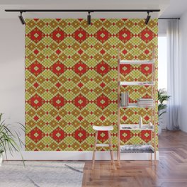 Indian Summer snakeskin 2 Wall Mural