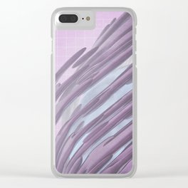 swells Clear iPhone Case
