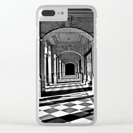 Shadowed Perspective Clear iPhone Case