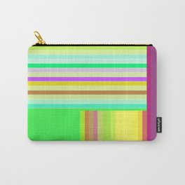 Re-Created  Parquet 6 by Robert S. Lee Carry-All Pouch