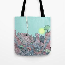 There be Dragons Tote Bag