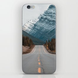 Road to the Mountain iPhone Skin