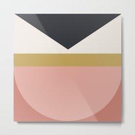 Maximalist Geometric 03 Metal Print