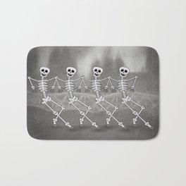 Dancing skeletons I Bath Mat