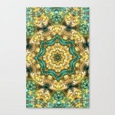 Jade & Gold Canvas Print