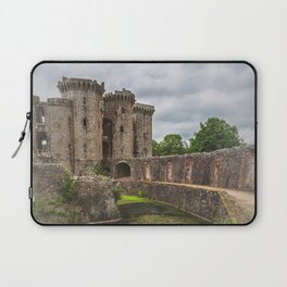Pathway By The Castle Moat Laptop Sleeve