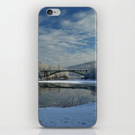 River View - Finally Looks Like Winter iPhone Skin