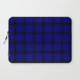 Large Dark Blue Weave Laptop Sleeve