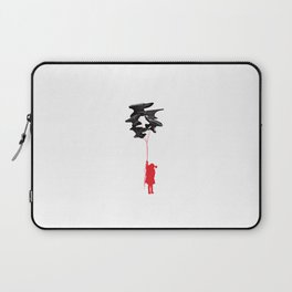 Balloon with Lady Laptop Sleeve