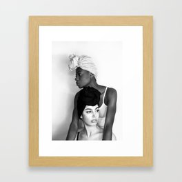 Melanin Framed Art Print
