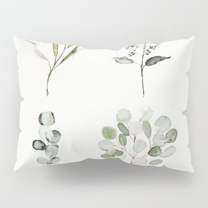 Eucalyptus Branches Pillow Sham