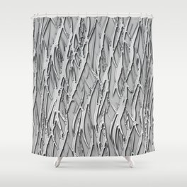 Moonlight forest Shower Curtain