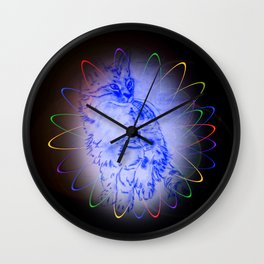 Atrium Cat Wall Clock