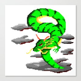 flying dragon Canvas Print