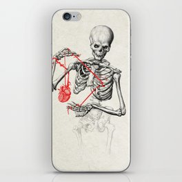 I need a heart to feel complete iPhone Skin