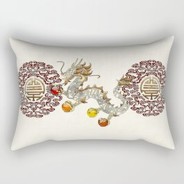 Dragon Chakra Rectangular Pillow