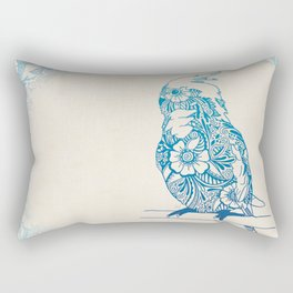 Henna Cockatiel Rectangular Pillow