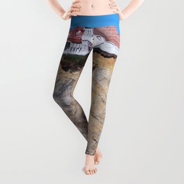 Living at the End of the World Leggings