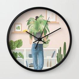 My Little Garden I Wall Clock