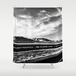 Road to San Francisco Shower Curtain