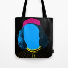 Pop Portrait Disaster 3 Tote Bag
