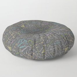 Math Lessons Floor Pillow