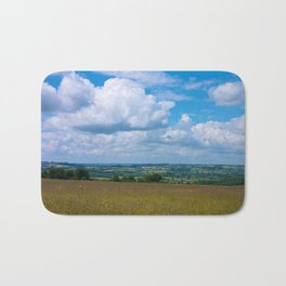Looking across the Cotswolds, England Bath Mat