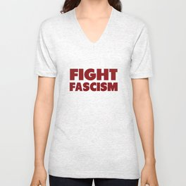 Fascism Fighter Unisex V-Neck