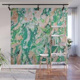 Moss Agate  Wall Mural