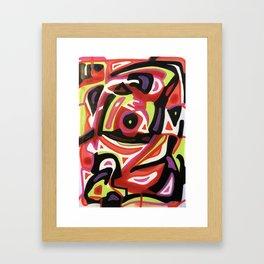 Cracked on Sight Framed Art Print