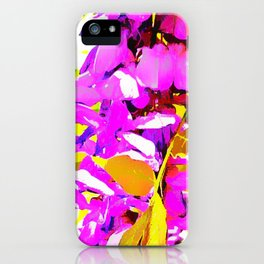 Wisteria 5 Purple iPhone Case