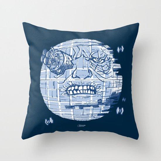 Le Voyage Dans L'Etoile De La Mort Throw Pillow