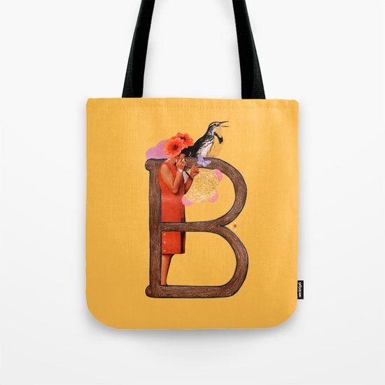 "A TO Z - ""B"" Tote Bag"