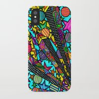 buildings iPhone & iPod Cases featuring Buildings  by Marcela Caraballo