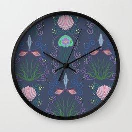 Ocean Garden Wall Clock