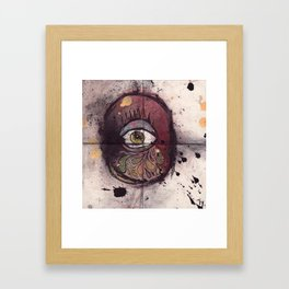 The cyclops is crying Framed Art Print