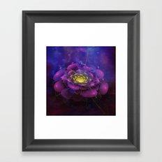 A Beautiful Fractal Flower 3 Framed Art Print