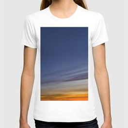 Bright colors of the twilight sky T-shirt