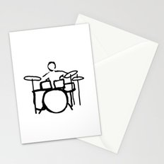 Drummer expert Stationery Cards