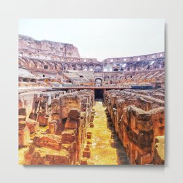 The Lions Den Metal Print