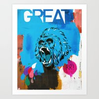Great Art Print
