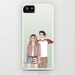 Malia Tate/Stiles Stilinski iPhone Case
