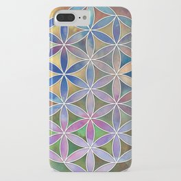 The Flower of Life in the Sky iPhone Case