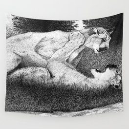 Pounce Wall Tapestry