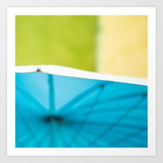 Summer Umbrella Art Print