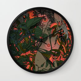 When All Things Ripen Wall Clock