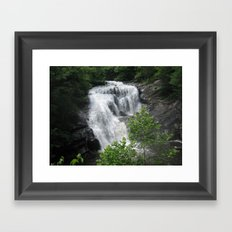 Tennessee waterfall Framed Art Print